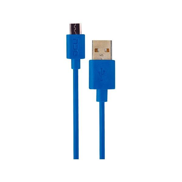 Dcu cable azul conexión usb a micro usb 2m