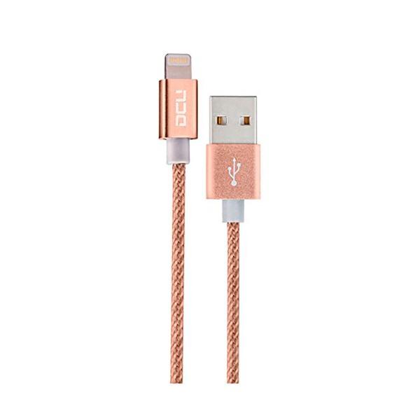 Dcu cable dorado usb a lightning 1 metro