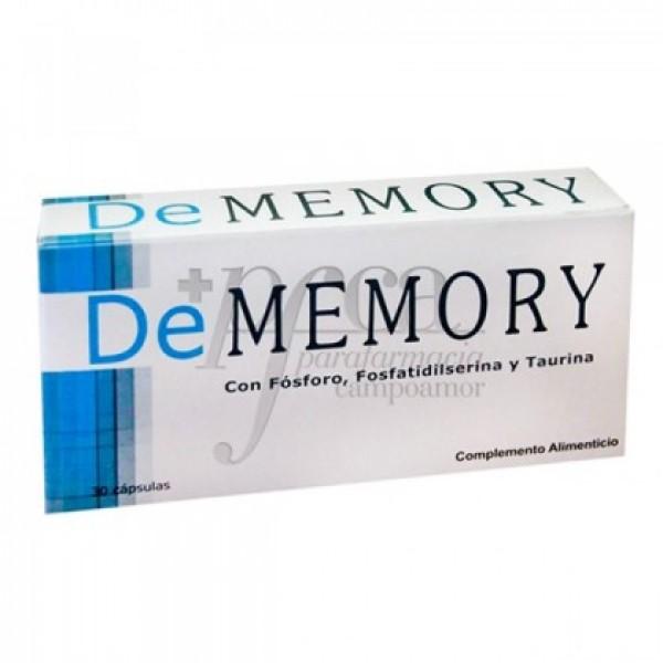 DE MEMORY 30 CAPS