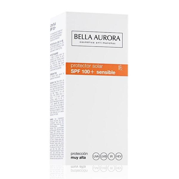 Bella aurora protector solar spf100 piel sensible 40ml