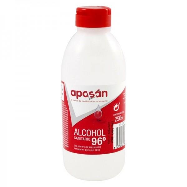 APOSAN ALCOHOL 96º CL BENZALCONIO 250 ML