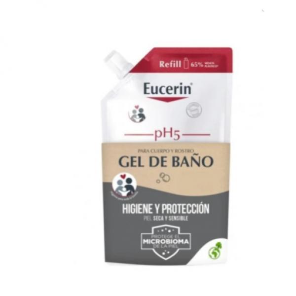 EUCERIN GEL DE BAÑO PIEL SECA Y SENSIBLE 400 ML